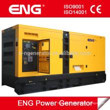 Type de groupe électrogène diesel de groupe électrogène 50Hz 1500rpm 3phase 200kw: ouvert ou silencieux