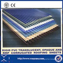 Machines ondulées de feuille de toiture de PVC rigide