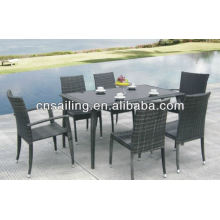 All Weather Wicker High Quality wooden garden furniture Dining Furniture