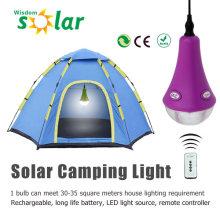 2015 nuevo producto PC camping solar linterna portátil con luces de LED de PC 1/2/3