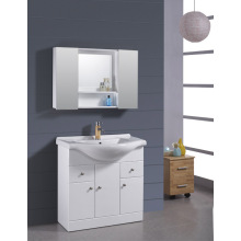 Gabinete de la vanidad del cuarto de baño del MDF de los 80cm (B-1318)