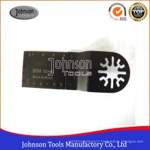 Lame de scie à outils oscillants Bi-Metal 32mm (1-1 / 4 '') pour bois, métal