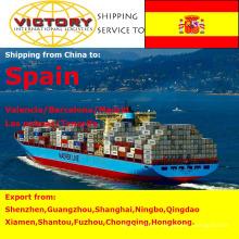 Морские перевозки контейнерные перевозки из Китая в Испанию.