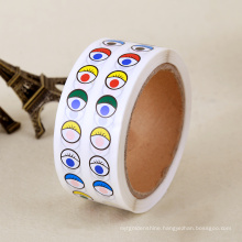 Promotional Eyes Pattern Paper Stickers