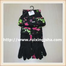 Перчатки женские моды флиса шарф шляпа задает