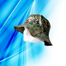 100% Polyester Man′s Sublimation Print Bucket Cap