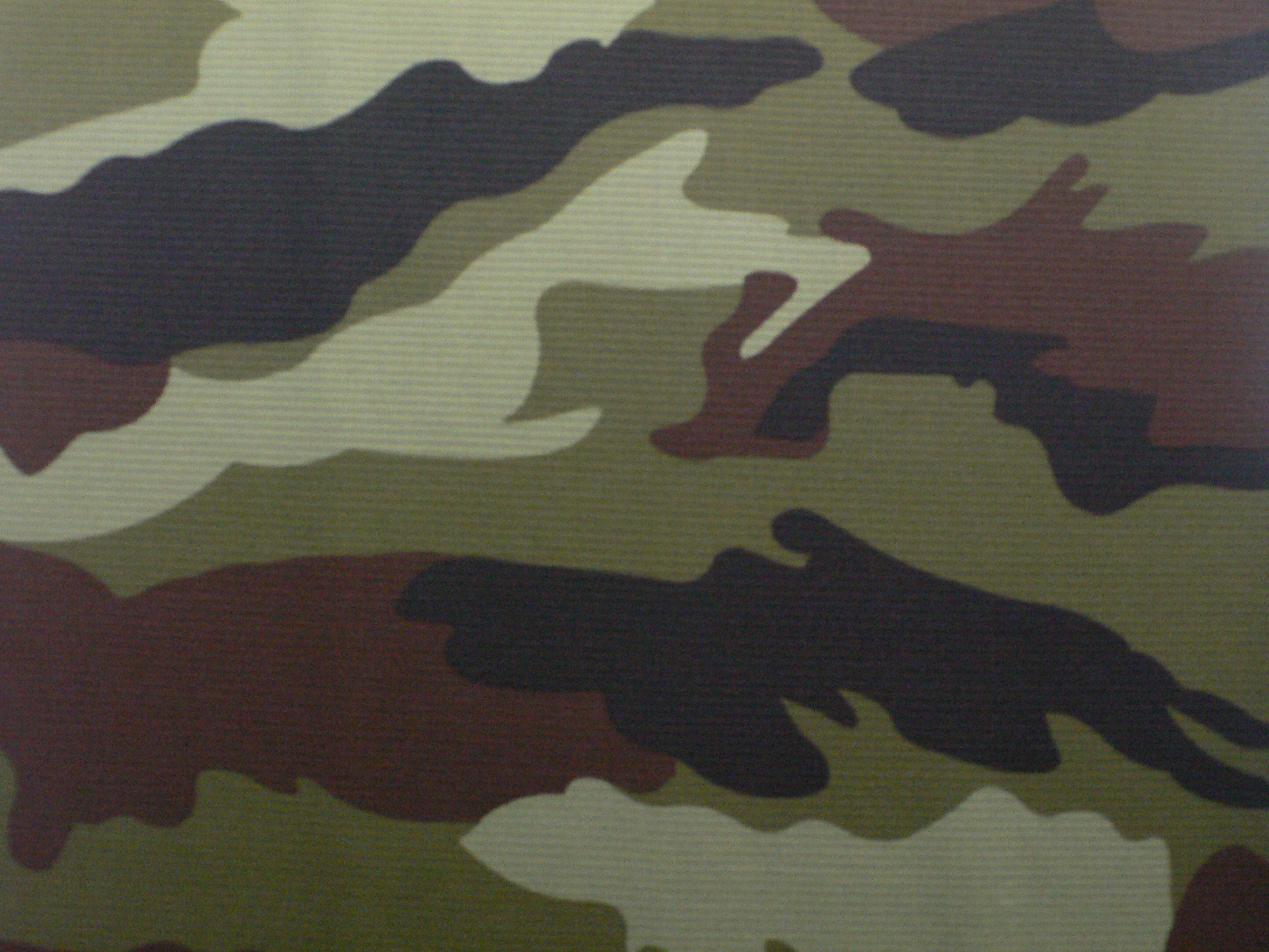 Ireland Polyester Knitting Camouflage Fabric for T-shirt