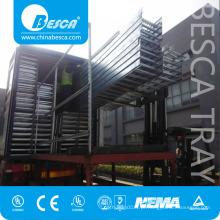 Bandeja de cabo de galvanizado por imersão a quente ao ar livre e fábrica de fornecedor de bandejas