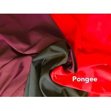 100% polyester microfiber geverfd pongee