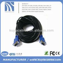 BRAND NEW PREMIUM SVGA / VGA Schnüre HD15PIN Kabel schwarz LCD Monitor Kabel CRT Monitor Kabel