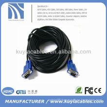 BRAND NEW PREMIUM SVGA/VGA Cords HD15PIN Cable black LCD Monitor Cable CRT Monitor Cable