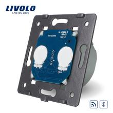 Norme EU du fabricant Livolo La base de Touch House Home Led Remote Rideaux Switch VL-C702WR