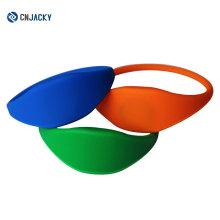 Diverso tipo de silicona cerrada tipo 13.56MHz S50 1K RFID Wristband