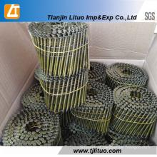Forneça a planta comum dos pregos da bobina dos pregos da bobina da fonte