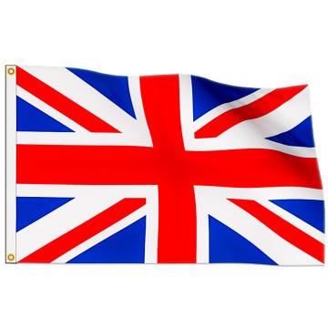 Die Flagge des Vereinigten Königreichs
