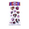 Dog princess series sticker scrapbook bubble stickers reward kids toys stickers