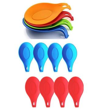 New Kitchenware Colorful Ladle Silicone Rest