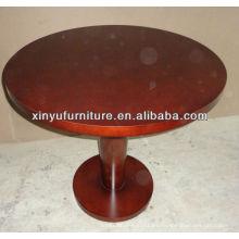 Baratos Brown mesa de café de color soild C1037