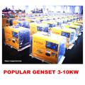 Small Air Cooled Diesel Generator 3kw, 5kw, 6kw, 10kw