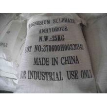 Weißes kristallines Granulat Magnesiumsulfat Heptahydrat und wasserfrei