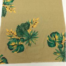 Lino algodón mezclado impreso sofá de la tela de la ropa / tela Textiles del hogar