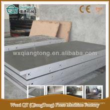6'x12 'Stahlplatte für Heißpressmaschine