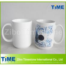 Großhandel Porzellan Plain Weiß Gaint Kaffeetasse Tasse