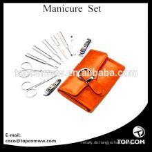 10 stücke Luxus / Deluxe Stilvolle Nagelpflege Persönliche Maniküre & Pediküre Set Maniküre Travel & Grooming Set Kit