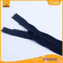 5 # Derlin cerrado color personalizado cremallera de plástico para Pant ZP30001