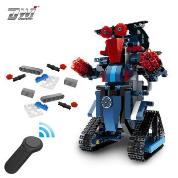 DWI Dowellin 347pcs DIY Bricks Toys stem learning toys Robot For toddler kids