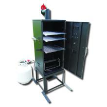 Fumoir de BBQ au gaz à basse pression de 34 pouces avec CSA