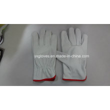 Driver Glove-Cow Leather Glove-Safety Glove-Weight Lifting Glove