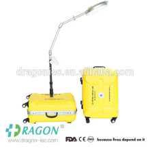 DW-PSL001 valise type portable LED chirurgie lumière