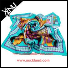 Laço de seda impresso popular do lenço africano