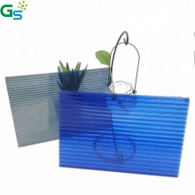 Guansu Cheap Price Raw Material Carport Roof Covering Plastic Sheet Polycarbonate Hollow Sheet