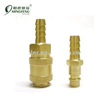 Brass nickel-plated Guaranteed quality metal coupler