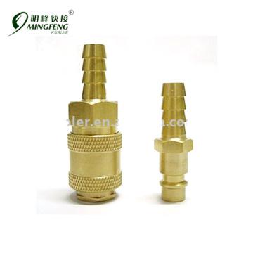 Messing vernickelt Garantierte Qualität Metallkoppler