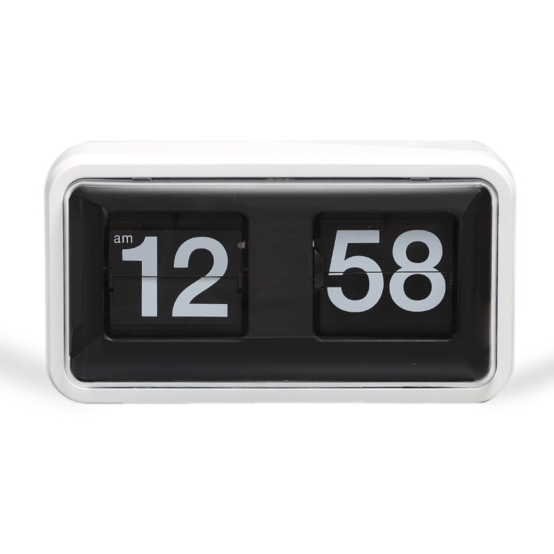 Flip Clock With Cover