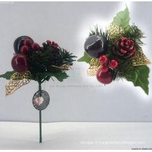 Beaux ornements de Noël