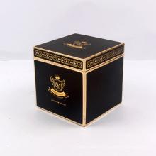 Logo fait sur commande de boîte-cadeau de carton d'emballage carré fait sur commande de haute qualité
