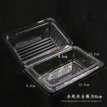 Пластиковая коробка для продуктов из пластика для расфасовки (прозрачная упаковка из полипропилена)
