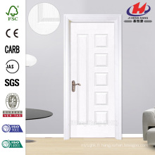 JHK-010 Imprimante de design populaire Fram Whiter Primer HDF Door
