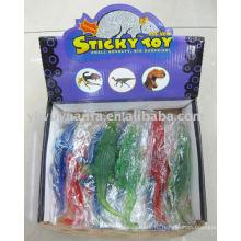 Смешивать цвета эластичный липкий Крокодил игрушка