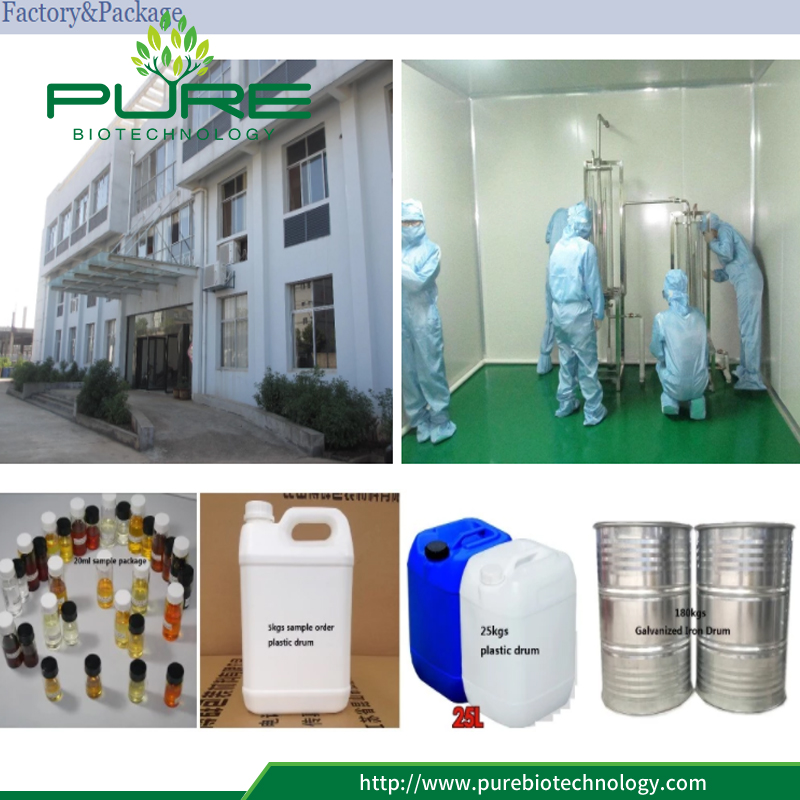Hemp oil factory and pacakge
