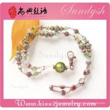 Wholesale Fashion Crystal Beads Jewelry New Keychain Lanyard