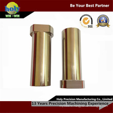 CNC Machining Brass Part with Zinc Plated