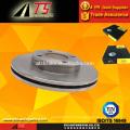 Système de frein de manutention frein à disque de frein ventilé à haute performance à frein à disque de frein à frein pour automobile de l'Allemagne 443615301A 443615301B