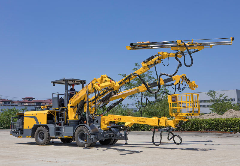 Hydraulic Rock Bolting Rig