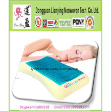 Non-Pressure Soft Head Care Wave Shape Memory Pillow