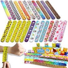 Pulsera colorida personalizada del día de San Valentín de las pulseras de la palmada